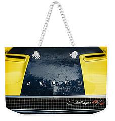 Wrinkles Add Character Weekender Tote Bag by Caitlyn Grasso