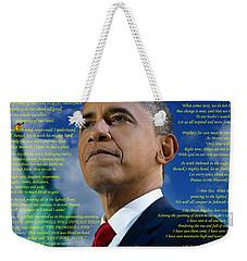 Writer, Artist, Phd. Weekender Tote Bag