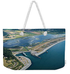 Wsf At The Coupeville Dock Weekender Tote Bag