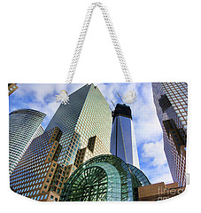 Wtc Nyc Construction I Weekender Tote Bag