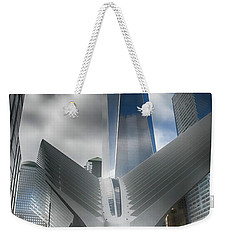 Wtc Oculus - Freedom Tower Weekender Tote Bag by Dyle Warren