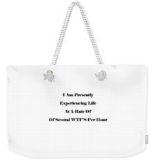 WTF Weekender Tote Bag