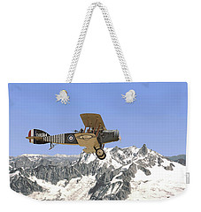 Weekender Tote Bag featuring the photograph Ww1 - Bristol Fighter by Pat Speirs