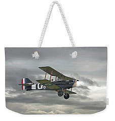 Weekender Tote Bag featuring the digital art Ww1 - Icon Se5 by Pat Speirs