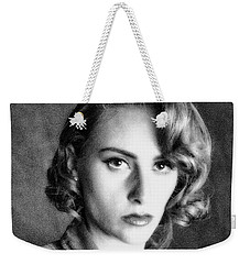Weekender Tote Bag featuring the photograph Ww2 ... Home Front Factory Worker by Chuck Caramella