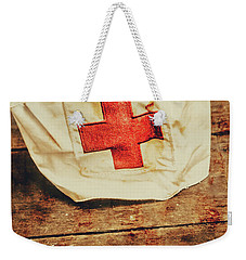 Ww2 Nurse Hat. Army Medical Corps Weekender Tote Bag by Jorgo Photography - Wall Art Gallery
