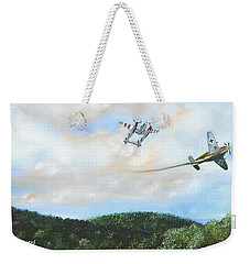 Wwii Dogfight Weekender Tote Bag