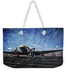 Wwii Workhorse Weekender Tote Bag