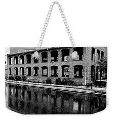 Weekender Tote Bag featuring the photograph Wyche Pavilion by Corinne Rhode