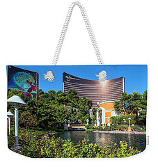 Wynn Casino In The Late Afternoon 2 To 1 Ratio Weekender Tote Bag by Aloha Art