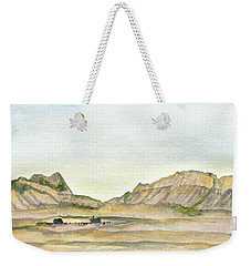 Wyoming Ranch Weekender Tote Bag by R Kyllo