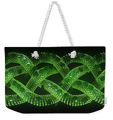 Wyrm - The Celtic Serpent Weekender Tote Bag