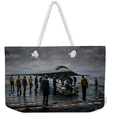 X-47b Uav  Weekender Tote Bag