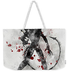 Xenomorph 2nd Edition Weekender Tote Bag by Rebecca Jenkins