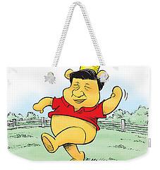 Xi The Pooh Weekender Tote Bag