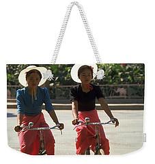 Xishuangbanna Cyclists Weekender Tote Bag
