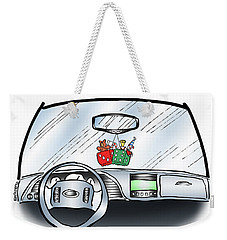 Hang Up Dice Weekender Tote Bag