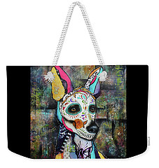 Xolo Mexican Hairless Day Of The Dead Weekender Tote Bag