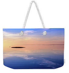 Xtra Blue Weekender Tote Bag by Thierry Bouriat
