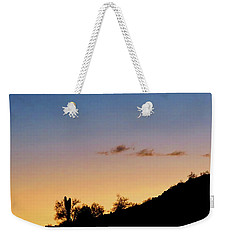 Y Cactus Sunset Moonrise Weekender Tote Bag