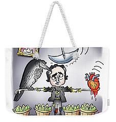 Ya Got Me Raven Weekender Tote Bag