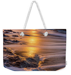 Weekender Tote Bag featuring the photograph Yachats' Sun by Darren White