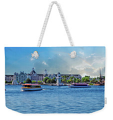 Yacht And Beach Club Walt Disney World Weekender Tote Bag