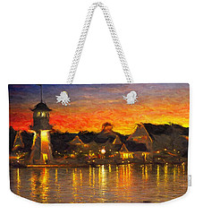 Yacht Club Weekender Tote Bag by Caito Junqueira