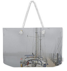 Yacht Doesn't Go In The Fog Weekender Tote Bag