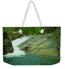 Yak Falls   Weekender Tote Bag by Jeff Swan