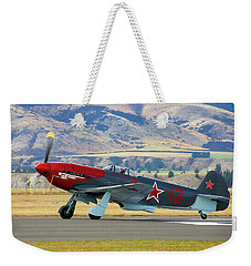 Yakovlev Yak 3-m Weekender Tote Bag by Bernard Spragg