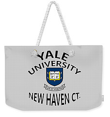 Yale University New Haven Connecticut  Weekender Tote Bag