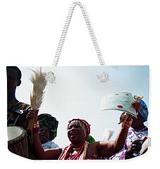 Yaloja Celebrates Weekender Tote Bag
