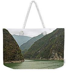 Yangtze Gorge Weekender Tote Bag