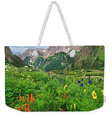 Yankee Boy Basin Weekender Tote Bag by Tim Fitzharris