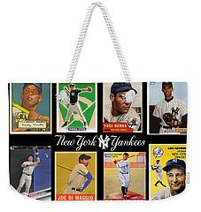 Yankee Cardboard Greats Weekender Tote Bag
