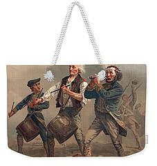 Yankee Doodle Or The Spirit Of 76 Weekender Tote Bag by Archibald Willard