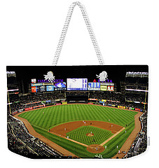 Yankee Stadium 1 Weekender Tote Bag by Nishanth Gopinathan