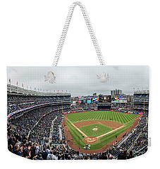 Yankee Stadium Behind The Plate  Weekender Tote Bag