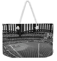 Yankee Stadium Black And White  Weekender Tote Bag