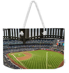 Yankee Stadium From Stands  Weekender Tote Bag