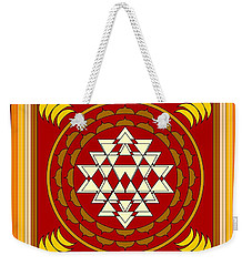 Yantra Meditation Weekender Tote Bag