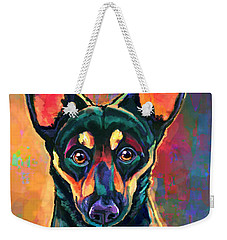 Yappy Hour Weekender Tote Bag by Sean ODaniels