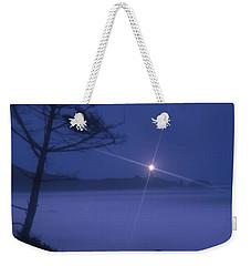 Yaquina Head At Night Weekender Tote Bag