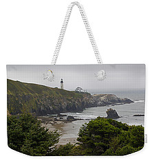 Yaquina Head Lighthouse View Weekender Tote Bag