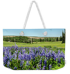 Yard Full Of Wildflowers Weekender Tote Bag