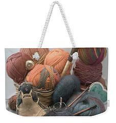 Yarn Weekender Tote Bag