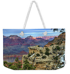 Yavapai Point Sunset Weekender Tote Bag by Diana Mary Sharpton