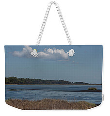 Weekender Tote Bag featuring the photograph Yawkey Wildlife Reguge - View From The Causeway by Suzanne Gaff