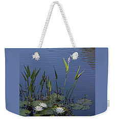Yawkey Wildlife Reguge Water Lilies With Rare Plant Weekender Tote Bag